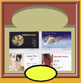Design online, one color business cards, postcards, magnetic business cards, letterheads, self-inking stamps,